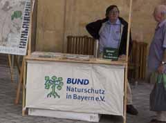 Bund Naturschutz am Aktionstag Mobilfunkrisiko