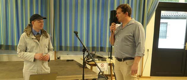 Vortrag von Uli Weiner in Schwarzach