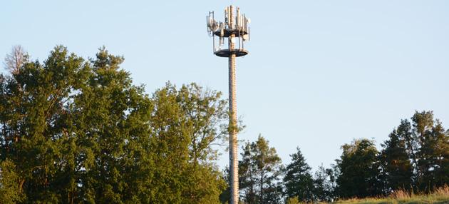 Mobilfunksender in Unterwaiz Kreis Bayreuth